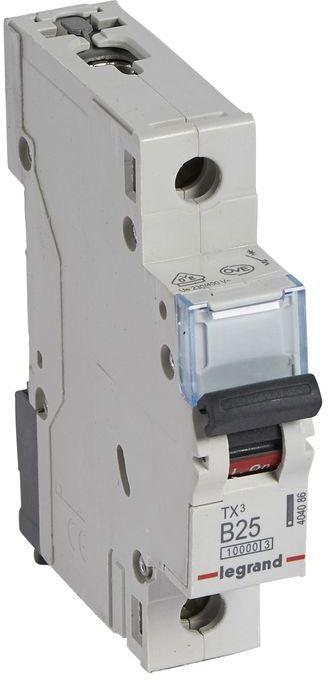 Wyłącznik nadprądowy 1P B 25A 10kA AC S311 TX3 404086