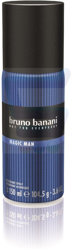 Bruno Banani Magic Man 150 ml dezodorant w sprayu dla mężczyzn dezodorant w sprayu + do każdego zamówienia upominek.