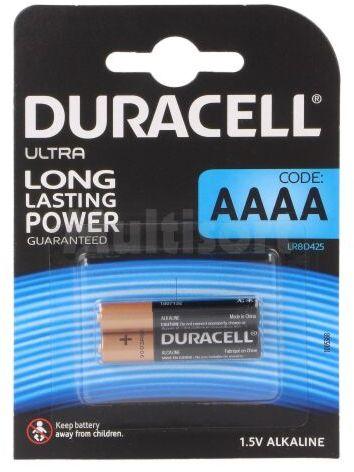 Bateria alkaliczna 1,5V AAAA DURACELL 2szt.