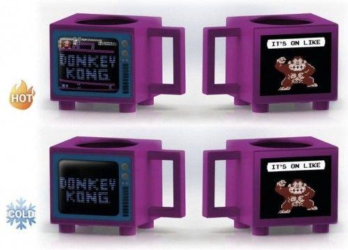 Kubek termoaktywny Donkey Kong Retro-TV