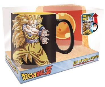 Kubek termoaktywny Dragon Ball Kamehameha + podkładka