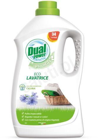 Dual Power Eco Greenlife - ekologiczny płyn do prania (2L - 40p)