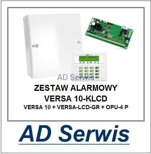 Zestaw alarmowy VERSA 10-KLCD Satel