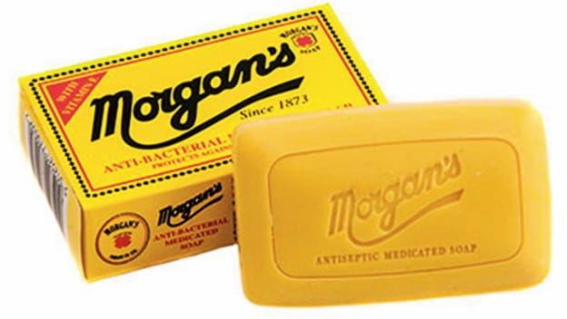Morgans antybakteryjne mydło lecznicze do twarzy i ciała 80g