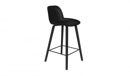 Krzesło barowe Albert Kuip All Black