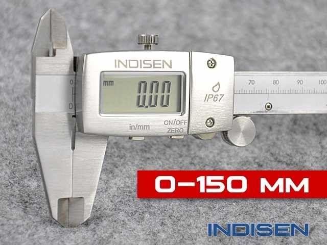 Suwmiarka elektroniczna IP67 150MM - INDISEN (1267-1500)