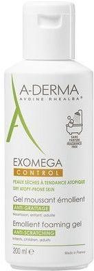 Aderma Exomega control pieniący się żel emolient 200 ml