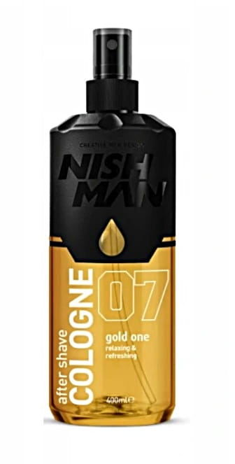 Nishman GOLD ONE 07 Cologne woda kolońska 400ml