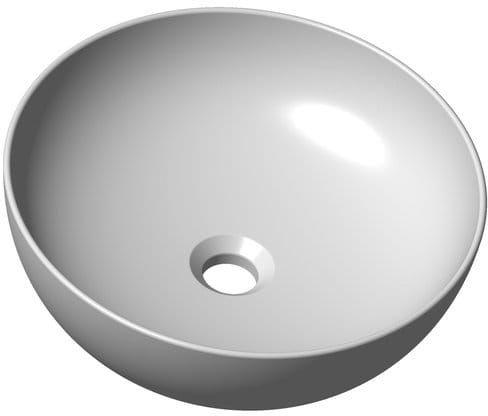 Ravak umywalka Uni Slim 400 B nablatowa ceramiczna XJX01140003