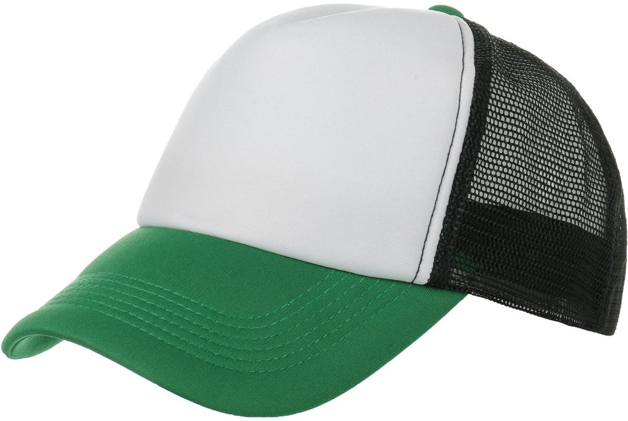 Czapka Tricolore Rapper, zielony, One Size
