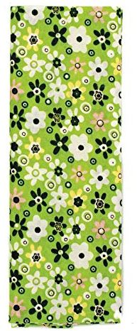 GLOREX Wykrój materiału, poliester, zielony, 26 x 13 x 1,5 cm
