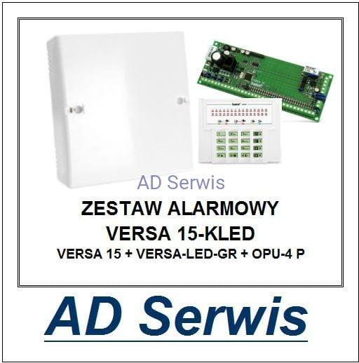 Zestaw alarmowy VERSA 15-KLED Satel