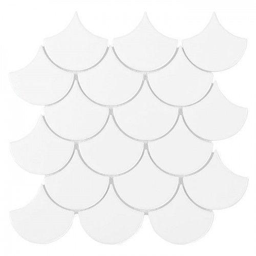 Mozaika Dunin Mini Fish Scale White 88