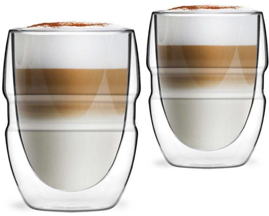 Komplet 2 szklanek z podwójną ścianką 300ml Sferico