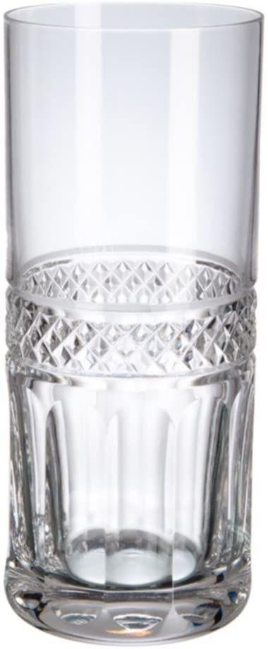 Szklany kubek Baremia Margaret Longdrink, szkło, 38 x 25 x 8 cm, 6 sztuk