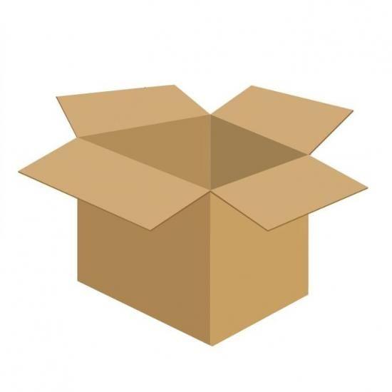 Karton klapowy tekt 3 - 520 x 520 x 510 500g/m2 fala C