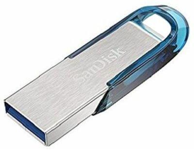 Pamięć USB SANDISK Ultra Flair 64 GB Niebieski