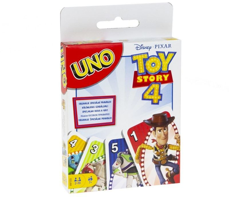 Mattel - Karty Gra UNO Toy Story 4 GDJ88