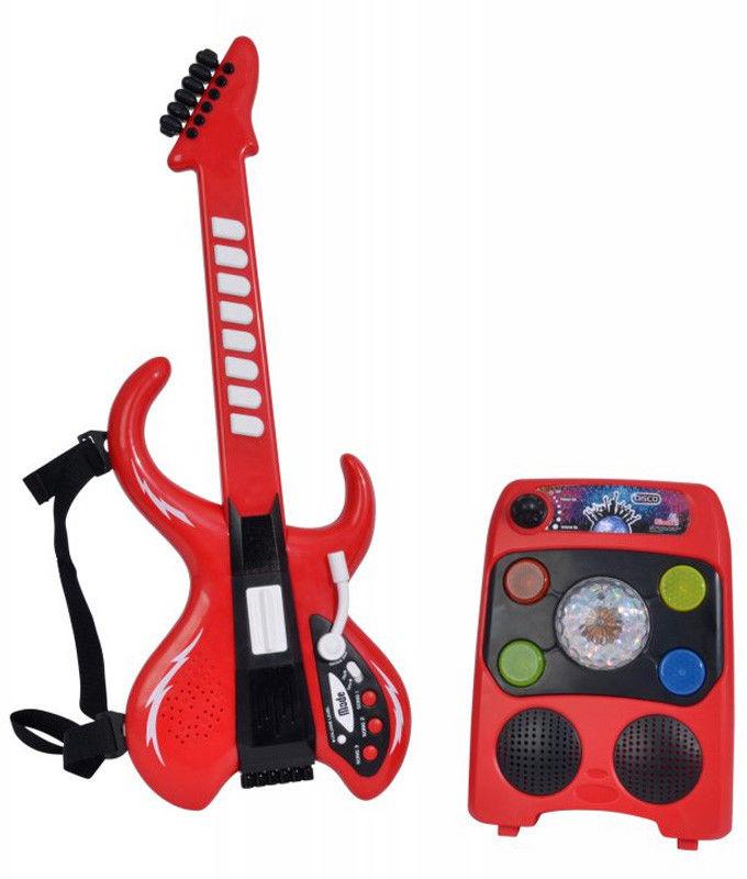 Simba - Disco gitara ze wzmacniaczem 6834251