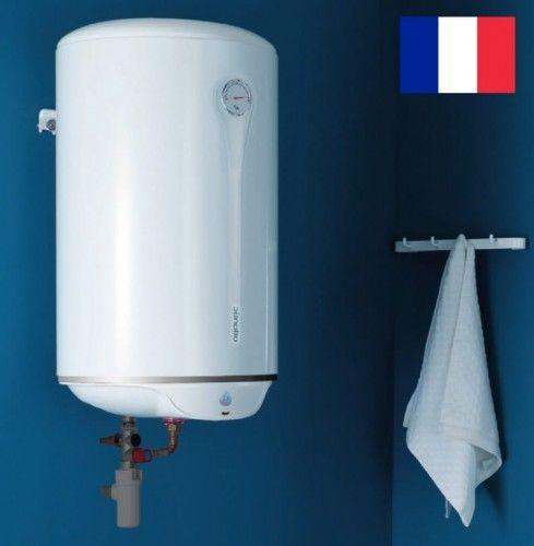 Elektryczny ogrzewacz wody 50L, średniej pojemności z grzałką, 1500W