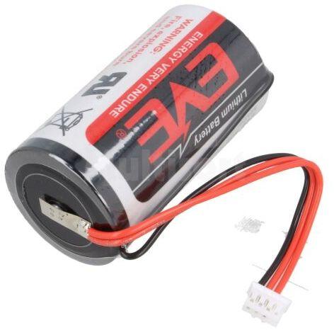 Bateria litowa 3,6V D EVE złącze JST PHR4 19000mAh