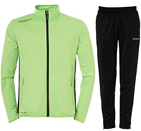 Uhlsport Essential Classic męski garnitur, zielony/czarny, L