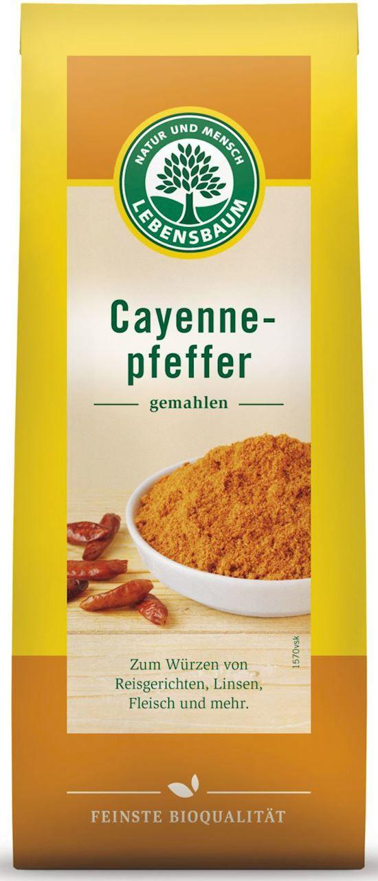 Chili pieprz cayenne bio 50 g - lebensbaum