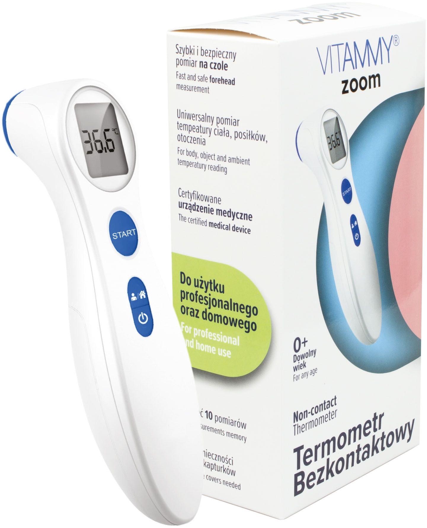 VITAMMY Zoom Elektroniczny Termometr Bezkontaktowy