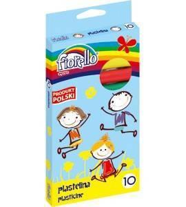 Plastelina 10 kol. FIORELLO - X00813