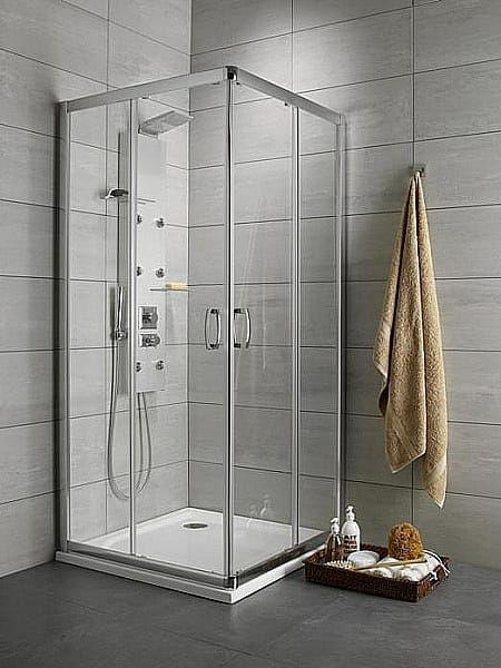 Kabina prysznicowa prostokątna Radaway Premium Plus D 75 x 90 szkło przejrzyste wys. 190 cm. 30433-01-01N