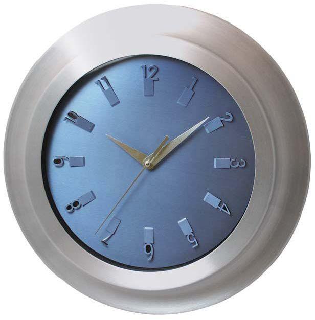 Zegar ścienny Atrix AL2029 SW Metalowy 33 cm