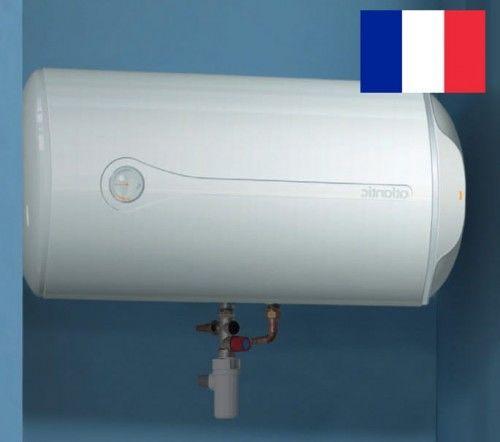 Elektryczny ogrzewacz wody z grzałką, Poziomy 50L, 1500W