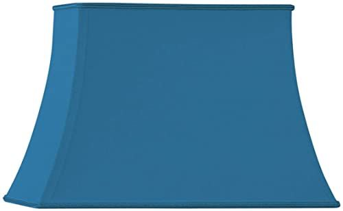 Pagode prostokątny klosz średnica 30 x 20 / 20 x 12 / 22 cm jasny niebieski