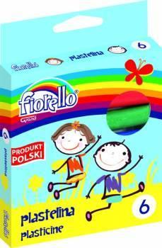 Plastelina 6 kol. FIORELLO - X00815