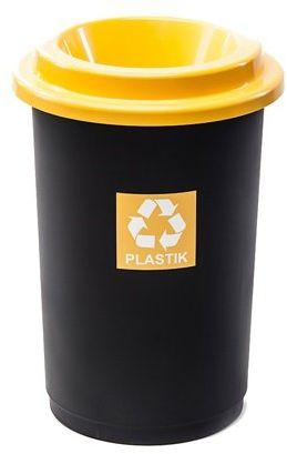 Kosz do segregacji ECO BIN 50L plastik metal