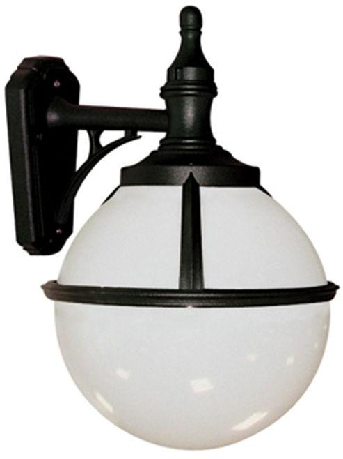 Kinkiet zewnętrzny Glenbeigh WALL Elstead Lighting czarno-biała oprawa w nowoczesnym stylu