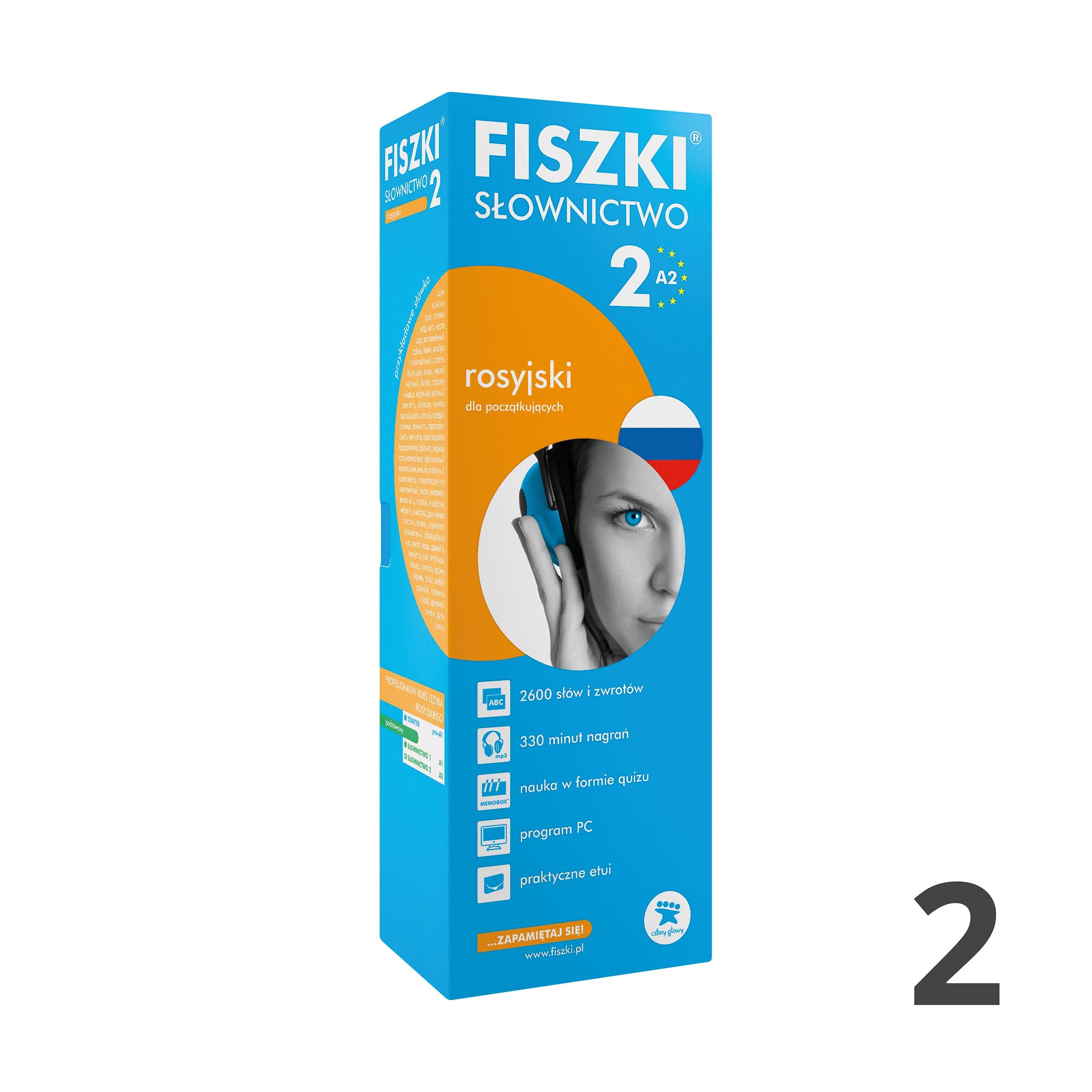 FISZKI - rosyjski - Słownictwo 2 (A2)