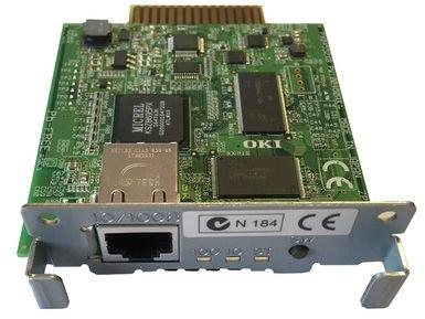 Karta sieciowa OKI LAN OKILAN7130E do ML33 eco / ML55 eco / ML57xx / ML6300FB-SC / ML4410 - 45268706
