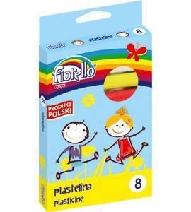 Plastelina 8 kol. FIORELLO - X00816