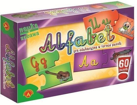 Puzzle - Alfabet ALEX - Alexander