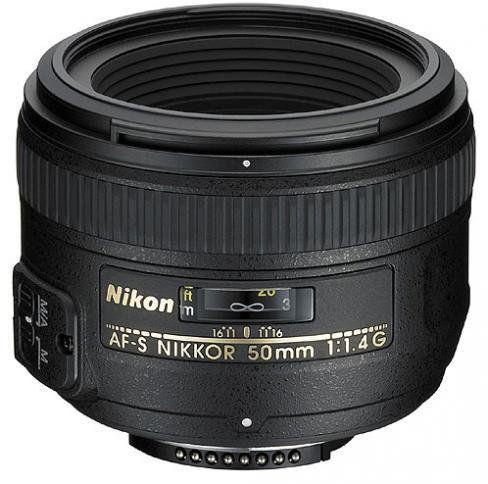 Nikon AF-S 50mm f/1.4G Czarny