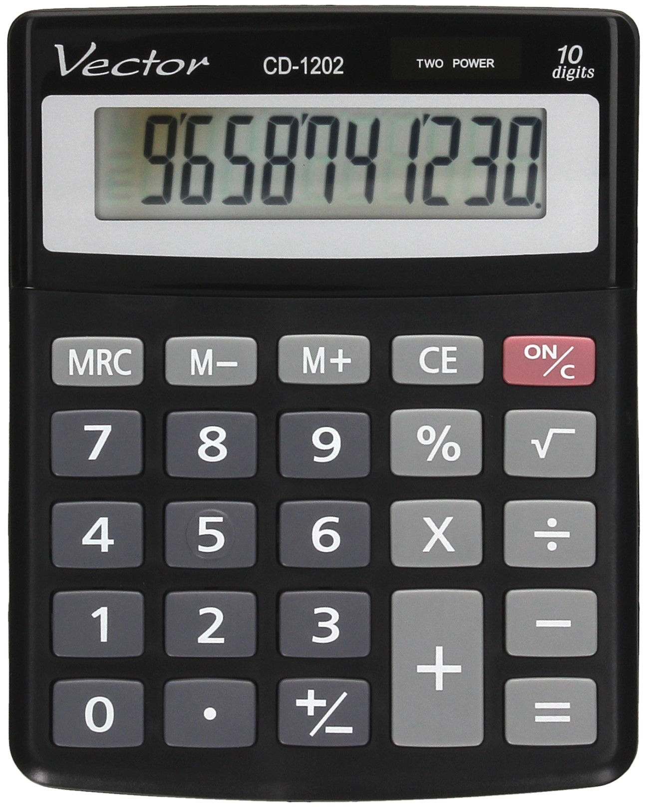 Kalkulator 10pozycyjny CD1202 Vector