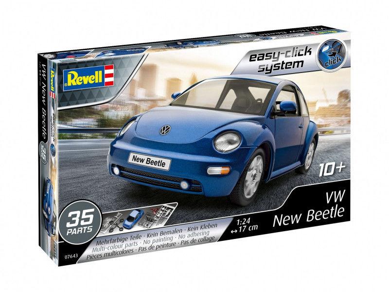 Model plastikowy VW New Beetle 1/24