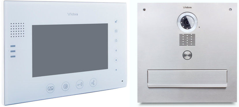 Skrzynka na listy vidos z monitorem m670w-s2/s551-skm - możliwość montażu - zadzwoń: 34 333 57 04 - 37 sklepów w całej polsce