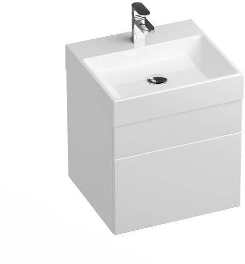 Ravak Szafka podumywalkowa SD Natural 50 cm biała połysk X000001051