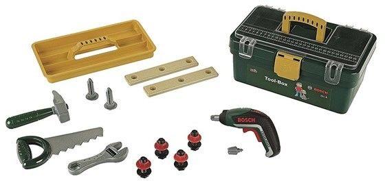 Klein - Skrzynka z narzędziami i wkrętarka Bosch Ixolino 8609