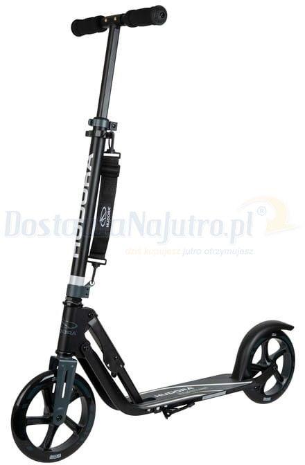 Hulajnoga HUDORA Big Wheel 205 RX Pro limitowana czarna 100 kg XXL SKŁADANA