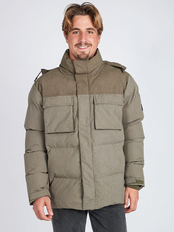 Billabong BUNKER MILITARY mens kurtka zimowa - L