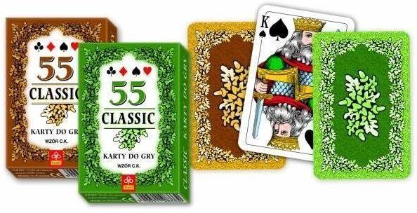 Karty - Classic 55 listków TREFL - Muduko
