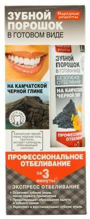 Proszek dentystyczny w formie pasty kamczackiej 45 ml Fito
